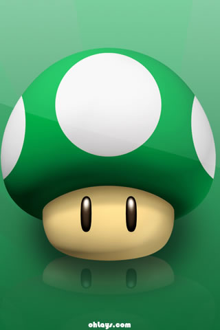 1 up! iPhone Wallpaper