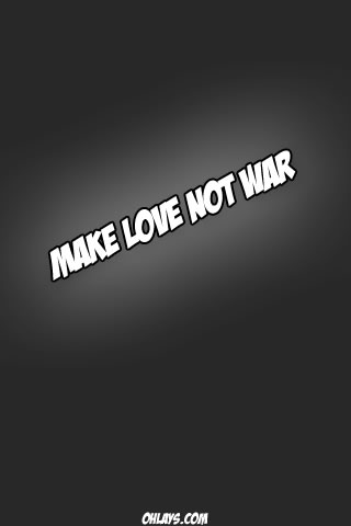 Make Love iPhone Wallpaper