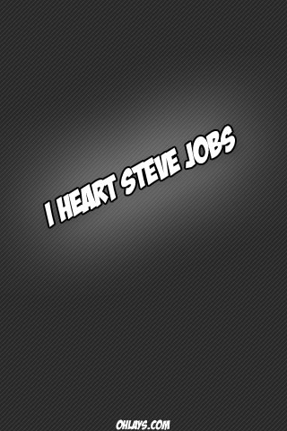 Steve Jobs iPhone Wallpaper