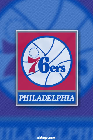Philadelphia 76ers iPhone Wallpaper