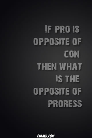 Pros and Cons iPhone Wallpaper