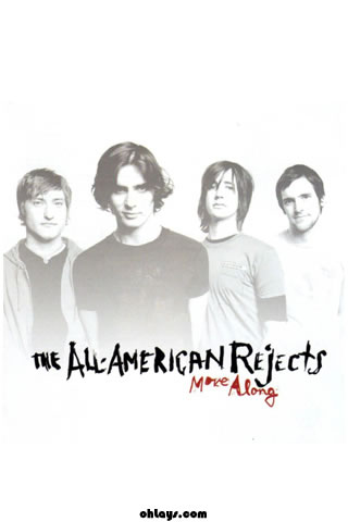 All American Rejects iPhone Wallpaper