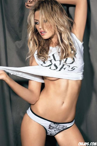 Abbey Clancy iPhone Wallpaper