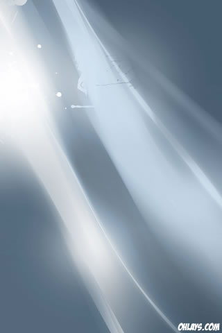 Gray Rays iPhone Wallpaper