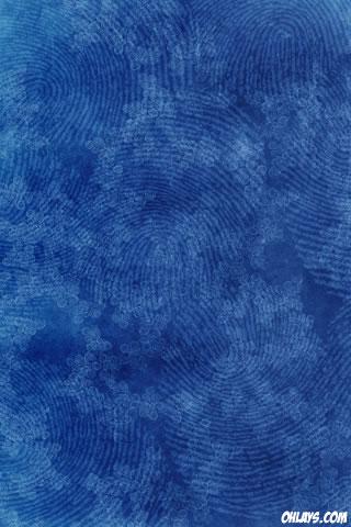 Blue Pattern iPhone Wallpaper