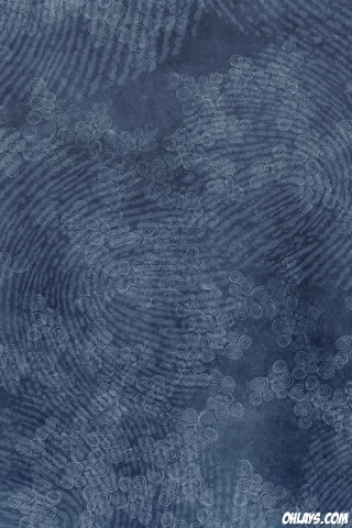 Fingerprint iPhone Wallpaper