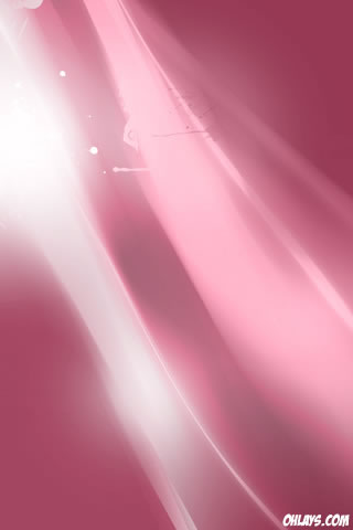 Pink Rays iPhone Wallpaper