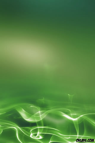 Green Abstract iPhone Wallpaper