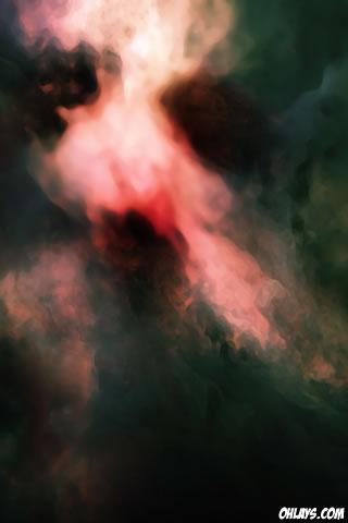 Smoke iPhone Wallpaper