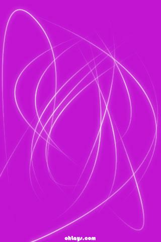 Purple Stroke iPhone Wallpaper