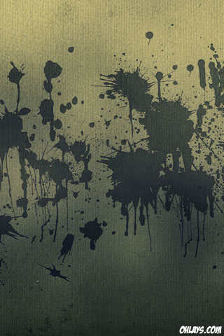 Splatter iPhone Wallpaper