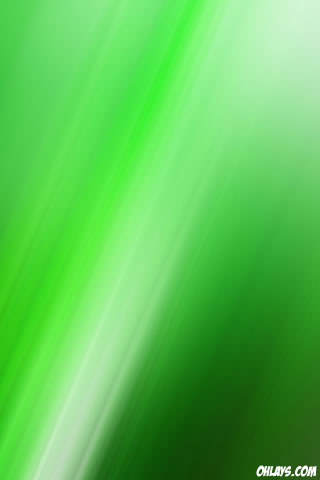 Green Blur iPhone Wallpaper