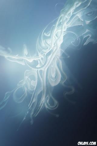 Blue Design iPhone Wallpaper