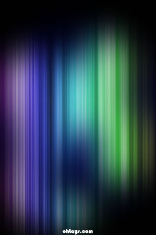 Blue Fibers iPhone Wallpaper