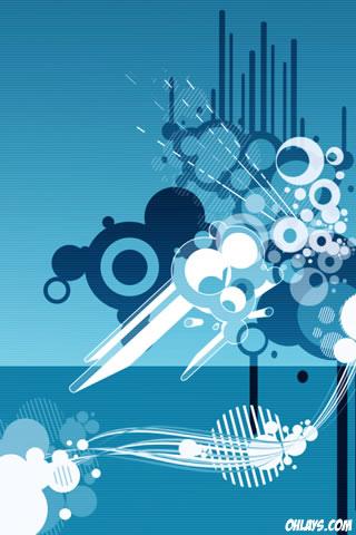 Vectors iPhone Wallpaper