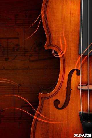 Violin iPhone Wallpaper