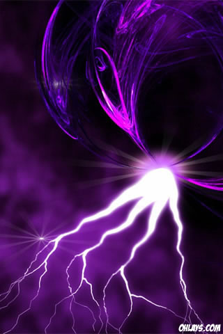 Lightning iPhone Wallpaper