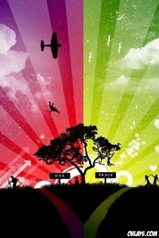 Skyline iPhone Wallpaper