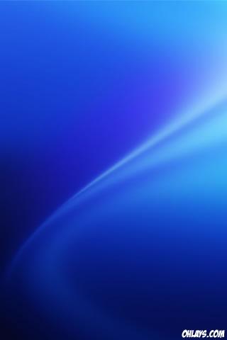 Blue Aura iPhone Wallpaper