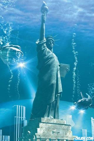 Under Water iPhone Wallpaper