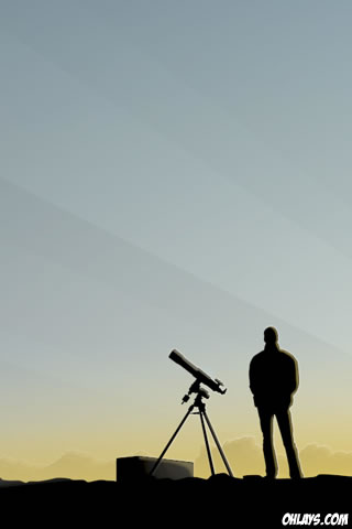 Telescope iPhone Wallpaper