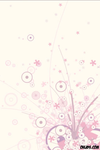 wallpaper flowers abstract. Flower iPhone Wallpaper