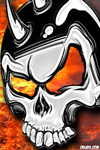 Skull iPhone Wallpaper