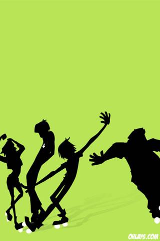 Dance iPhone Wallpaper