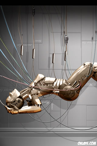Robot iPhone Wallpaper