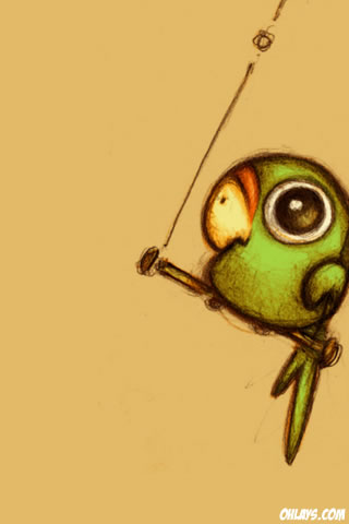 Parrot iPhone Wallpaper