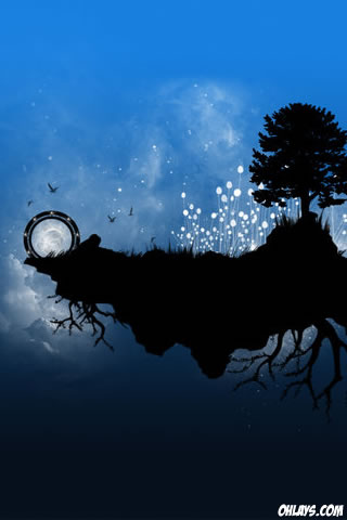 Tree iPhone Wallpaper