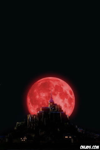 Moon iPhone Wallpaper