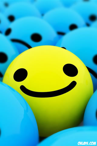 Smiley iPhone Wallpaper