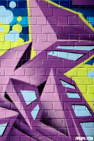 Graffiti iPhone Wallpaper