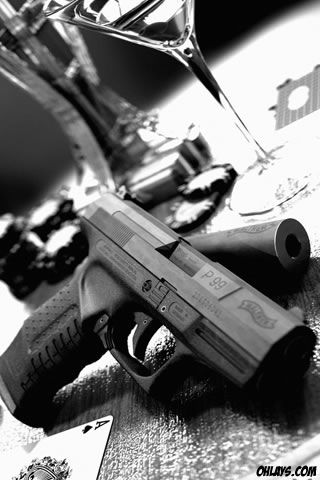Gun IPhone Wallpaper