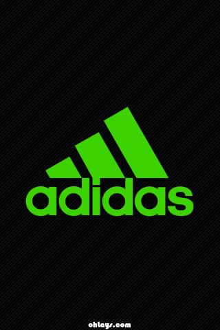 Green Adidas iPhone Wallpaper