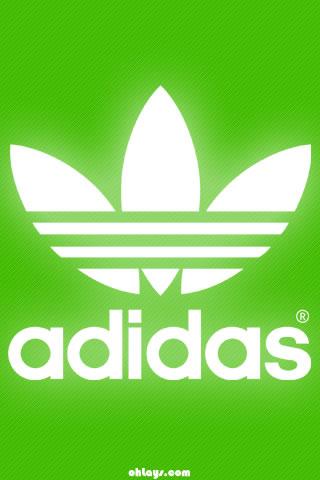 Green Adidas iPhone Wallpaper