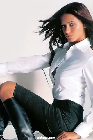 Adriana Lima iPhone Wallpaper