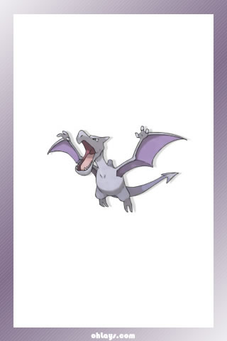 Aerodactyl iPhone Wallpaper