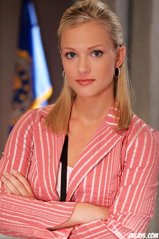 AJ Cook iPhone Wallpaper