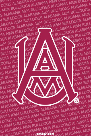 Alabama A&M Bulldogs iPhone Wallpaper
