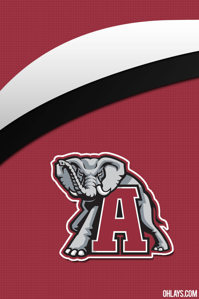 Alabama Crimson Tide iPhone Wallpaper