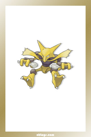 Alakazam iPhone Wallpaper