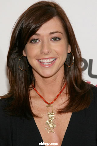 Alyson Hannigan iPhone Wallpaper