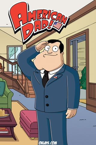 American Dad iPhone Wallpaper