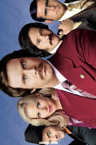 Anchorman iPhone Wallpaper