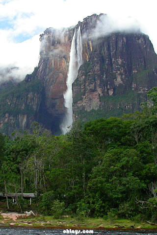 Angel Falls iPhone Wallpaper