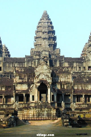 Angkor wat iPhone Wallpaper