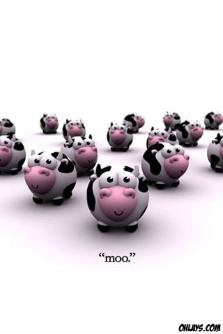 Cows iPhone Wallpaper