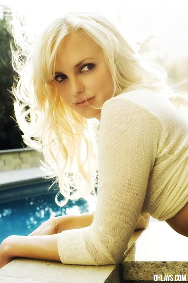 Anna Faris iPhone Wallpaper